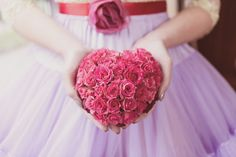 Heart rose bouquet - BlueSkyFlowers.co.uk  Photo by Crissi Rossi Photography