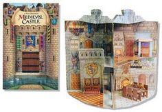 Medieval Castle pop-up book