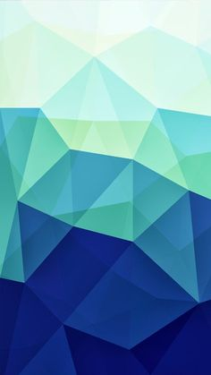 Blue Polygons iPhone 5S / SE wallpaper