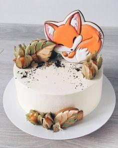 Не могу не поделиться фотографией замечательного тортика от @alya_small , на котором поселился мой лисенок . . #имбирныепряникиназаказ #пряникиручнойработы #пряникимелитополь #сладкийподарокслюбовью #топперынаторт #ручнаяработа #gingerbread #royalicingcookies #fox #angelassweets