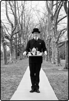 by Rodney Smith  tea is served on the sidewalk, madam…