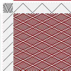 draft image: Page 153, Figure 16, Donat, Franz Large Book of Textile Patterns, 15S, 15T