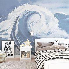 DIY Ocean/Beach Theme Bedroom Ideas For Kids #bedroomsforgirls