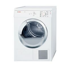 Bosch 3.9-cu ft Electric Dryer (White)