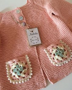 9 Tips for knitting – By Zazok Baby Boy Sweater, Baby Sweater Patterns, Baby Cardigan Knitting Pattern, Baby Knitting Patterns, Baby Patterns, Crochet Patterns, Crochet Baby Sweaters, Crochet Baby Clothes, Knit Crochet