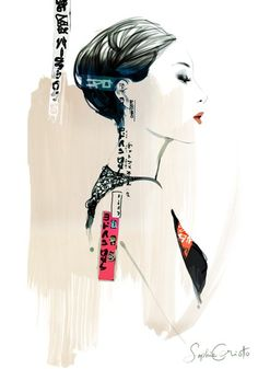 Fashion artwork By Sophie Griotto