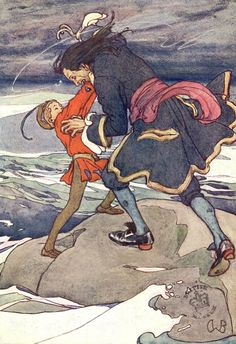 Alice B. Woodward's Peter Pan and Captain Hook