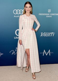 Jaime King in Katie Ermilio attends Variety's Power Of Women Luncheon. #bestdressed