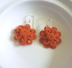 Hey, I found this really awesome Etsy listing at https://www.etsy.com/listing/130508225/moroccan-soutache-flower-earrings