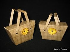 Stamp & Scrap with Frenchie: Pic Nick Basket with Petite Purse