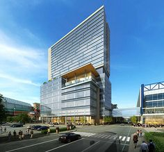 proposed office building hotel and parking garage for greater houston partnership avenida de capital group interiors capital group office interior