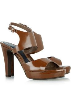 Simple but gorgeous platforms - Marni