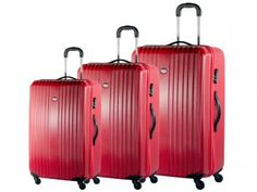 Conjunto de Malas para Viagem Swiss Move ABS T1769 - 3 Peças