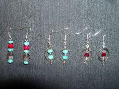 Earrings I made