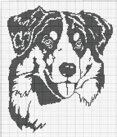 Gallery.ru / Фото #92 - собаки, схемы вышивок из интернета - poodel