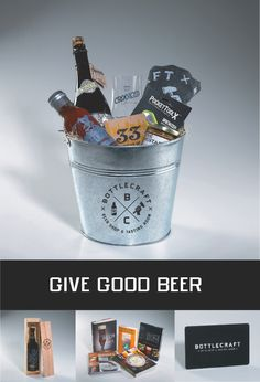 GIVE GOOD BEER!
