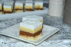 Prajitura Cremissimo   MiremircMiremirc Sweets Recipes, Cake Recipes, Cooking Recipes, Desserts, Romanian Food, Food Cakes, Vanilla Cake, Tiramisu, Cheesecake