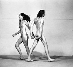 "crudevessels: Marina Abramovic ""Relation In Space"" 1976"