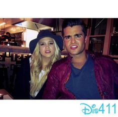 Olivia Holt & Spencer Boldman