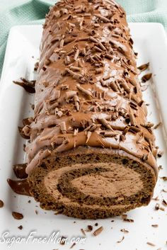 Sugar-Free Low Carb Chocolate Tiramisu Cake Roll Tiramisu Kuchen von A- Desserts (Visited 38 times, 1 visits today) Sugar Free Deserts, Sugar Free Recipes, Diabetic Cake Recipes, Sugar Free Cakes, Flour Recipes, Sugar Free Baking, Brownie Recipes, Diabetic Snacks Type 2, Sugar Free Sweets