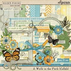 A Walk in the Park by Elise's Pieces and Sugarplum Paperie
