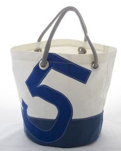 Sail bag- made from recycled sails