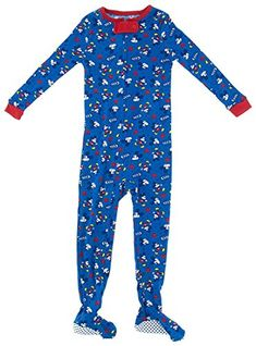 Disney BabyBoys Infant Mickey All Over One Piece Blanket Sleeper Blue 12  Months   Details can be found by clicking on the image. d0919082b