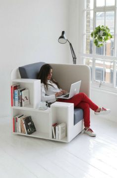 Open Book Chair - creative chair design || @pattonmelo