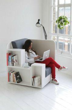 Open Book Chair - creative chair design || @pattonmelo
