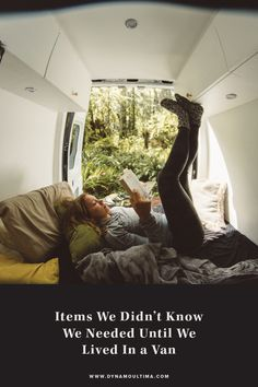 Items we didn't know we needed until we lived in a van | Van life essential items | Living in a van products | Sprinter van essentials