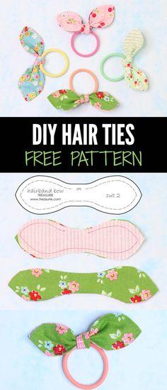 diy hair ties