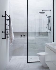 If you're wondering how to decorate a bathroom, you'll love these small bathroom design ideas. Create a stylish bathroom with big impact with our easy small bathroom decorating ideas. Mold In Bathroom, Zen Bathroom, New Bathroom Ideas, Simple Bathroom, Bathroom Inspiration, Master Bathroom, White Bathroom, Bathroom Cabinets, Bathroom Vanities