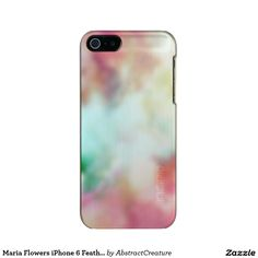 Maria Flowers iPhone 6 Feather® Shine, Silver Incipio Feather® Shine iPhone 5 Case