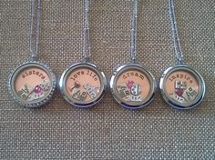 Origami Owl Lockets! Perfect for bridesmaids!