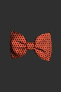 #burnt #orange #bowtie