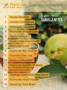 Guava Leaf Tea has been part of traditional medicine for centuries in Mexico and parts of South America.