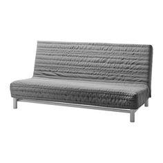 BEDDINGE Pokrycie sofy 3 osobowej rozkładane - Knisa jasnoszary - IKEA
