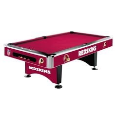 Washington Redskins 8Ft Pool Table By Imperial