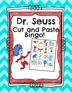 This Dr. Seuss Bingo set comes with a set of pictures that the students easily cut out, then arrange and glue on their Bingo sheet randomly. I have created two picture sheets and two blank bingo sheets per page for easy printing. Also, included is a Teacher Direction sheet and Teacher Calling cards to use for the game!