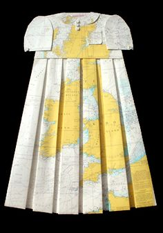 a map dress. oh my.