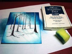 Light & Shadows in the Woods – Tutorial  Stampin Up