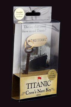 titanic crow's nest key