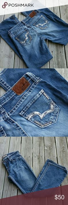 """Big Star Maddie Mid Rise Jeans Cute Big Star Jeans in excellent condition. Approx measurements: waist ~ 30"""", Inseam ~ 31"""", Rise ~ 8.5"""", Leg Opening ~ 20"""" Big Star Jeans Boot Cut"""