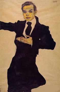 Portrait of Max Oppenheimer, Egon Schiele, 1910    사실 이 그림은 막스 오펜하이머의 초상화이다. 실제 춤을 추고 있었는지는 알 수 없다. 하지만 말끔하다 못해 백화점 명품관에서 바로 맞춰 입고 온 듯한 수트와 절도 있는 어깨의 각도 그리고 손끝까지 모든 것이 완벽하다. 전형적인, 하지만 매력 넘치는 클러버의 모습이다. 노란빛이 나는 얼굴과 몽롱한 눈빛은 클럽의 분위기와 물아일체가 된 듯한 느낌마저 든다. 넣을지 말지 고민도 했지만 주제와 이렇게 절묘하게 모든 것이 맞아 떨어지기가 쉽지 않아 이 그림을 포함시켰다.