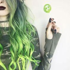 Imagen de green hair