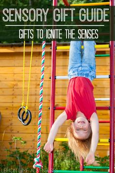 Sensory Processing Gift Guide | Complete with ideas for the separate sensory systems. Love these gift ideas for kids