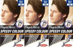 Bigen Men's Speedy Hair Colour 104 Natural Brown X 3 Packs >>> Read more reviews of the product by visiting the link on the image.