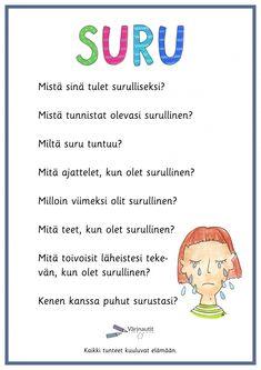 Tunne- ja kaveritaidot - Värinautit Teaching, Feelings, Words, Education, Horse, Onderwijs, Learning, Tutorials