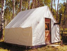1000 images about tent frame on pinterest wilderness for How to build a canvas tent frame