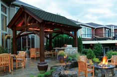 The design of a roof on a timber frame pergola can really change the look and feel of the architecture which is really exciting. Timber Pergola, Gazebo Pergola, Pergola Kits, Swimming Pools Backyard, Backyard Landscaping, Backyard Pavilion, Outdoor Pavilion, Pool Installation, Garden Sofa